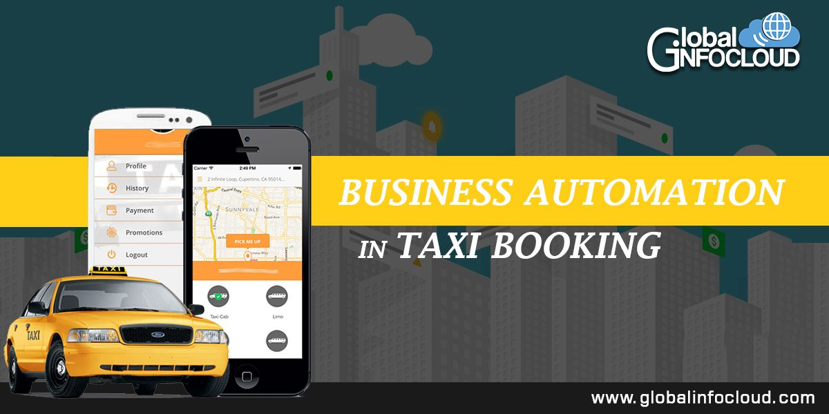 Business Automation In Taxi Booking