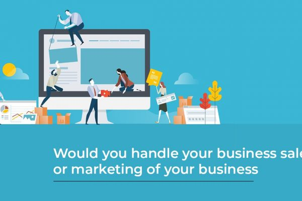 would you habdle your business sales